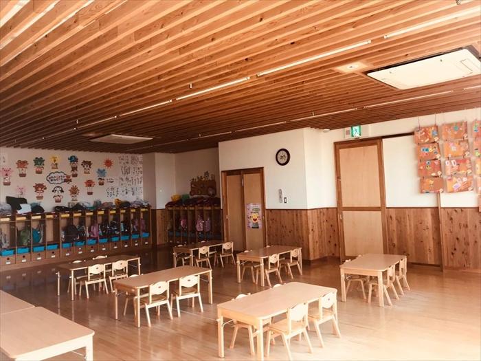 ぱんだぐみの室内の画像
